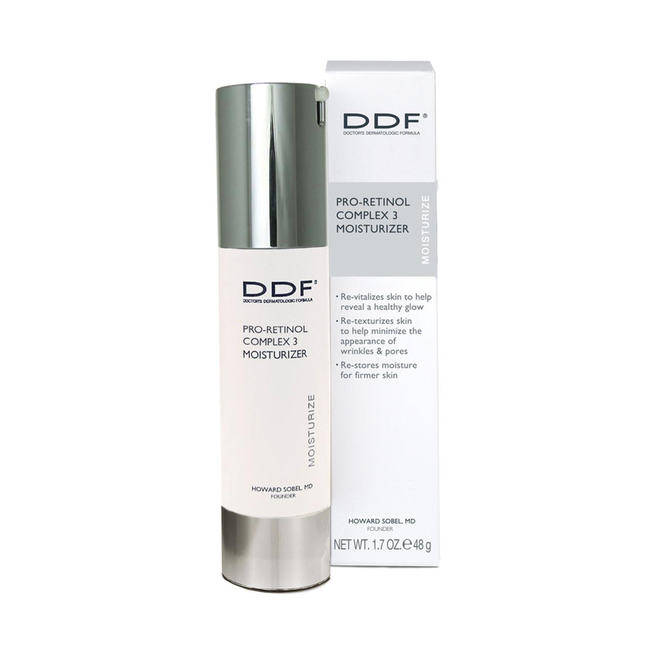 DDF Pro-Retinol Complex 3 Moisturizer BeautifiedYou.com