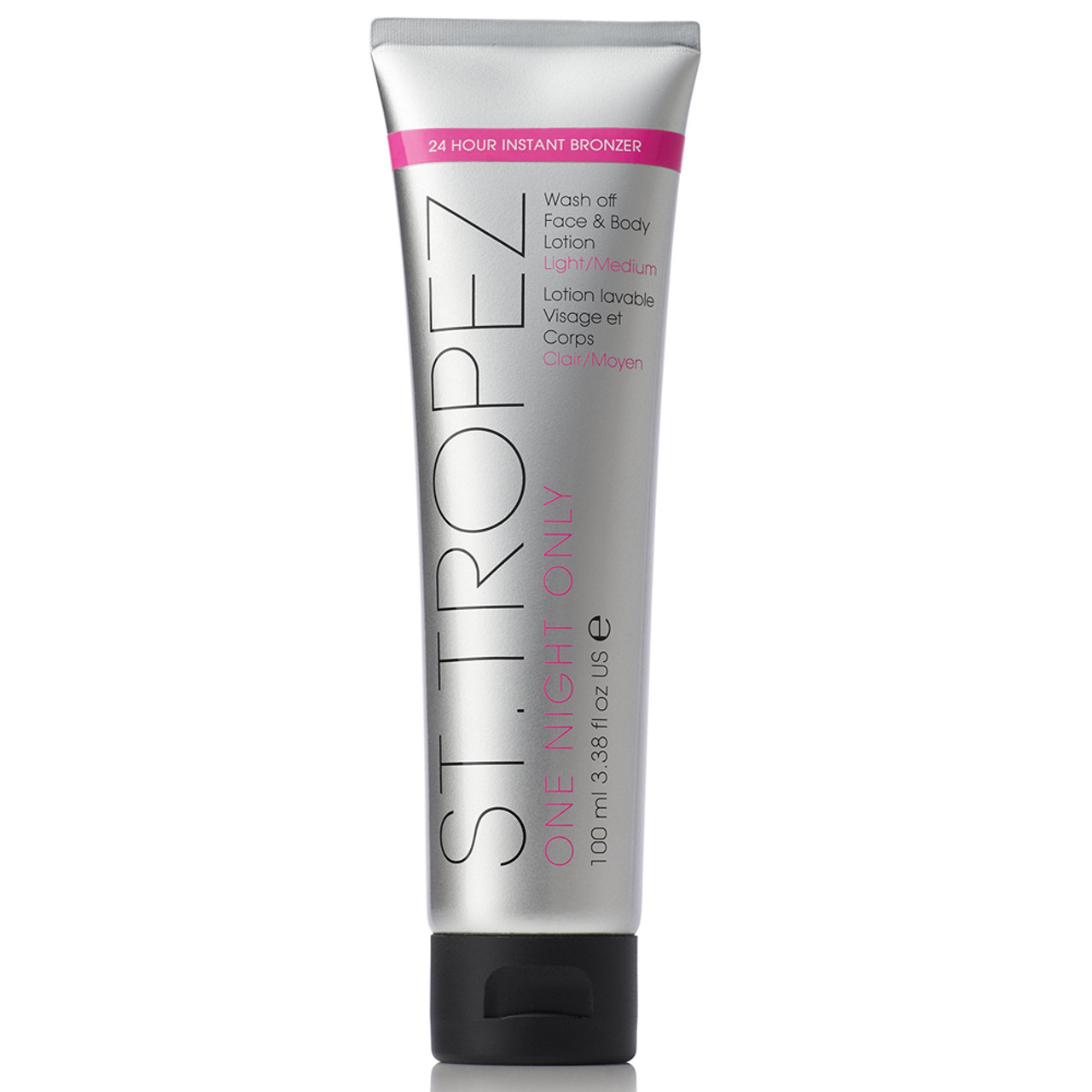 St Tropez One Night Only Wash-Off Face & Body Lotion - Light/Med