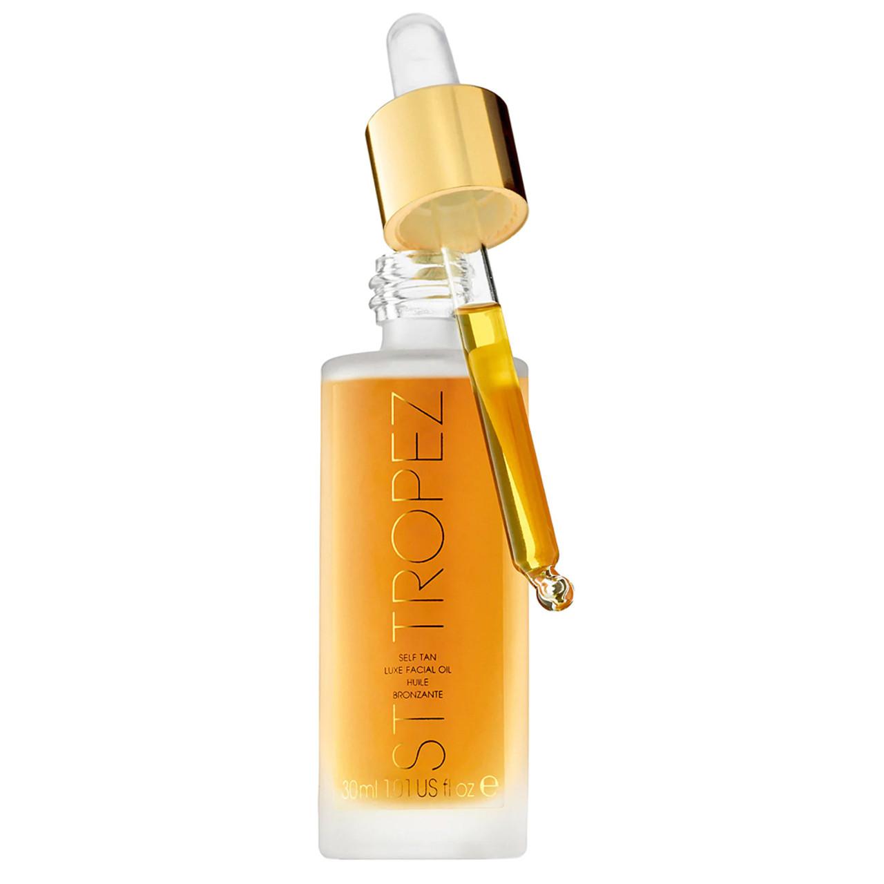 St Tropez Self Tan Luxe Dry Facial Oil