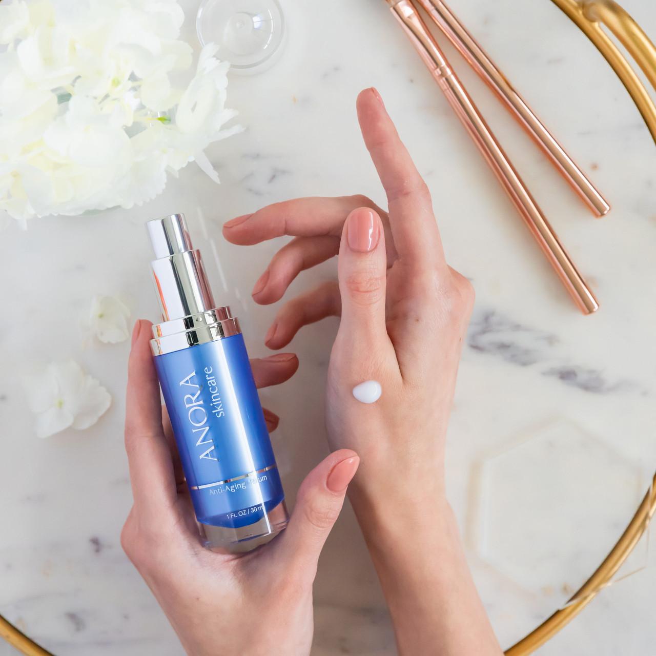 Anora Skincare Anti-Aging Serum - Front