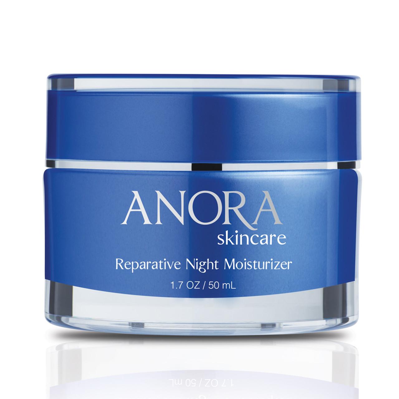 Anora Skincare Reparative Night Moisturizer - Front