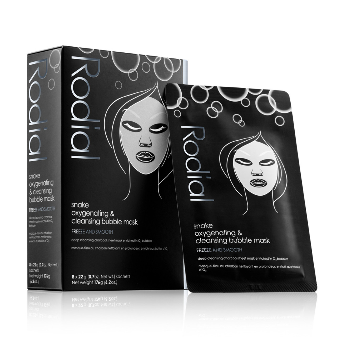 Rodial Snake Oxygenating & Cleansing Bubble Sheet Mask 2