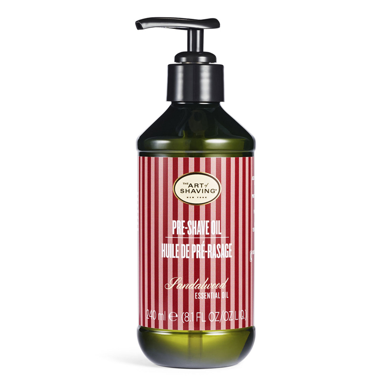 The Art of Shaving Pre-Shave Oil Large Pump - Unscented