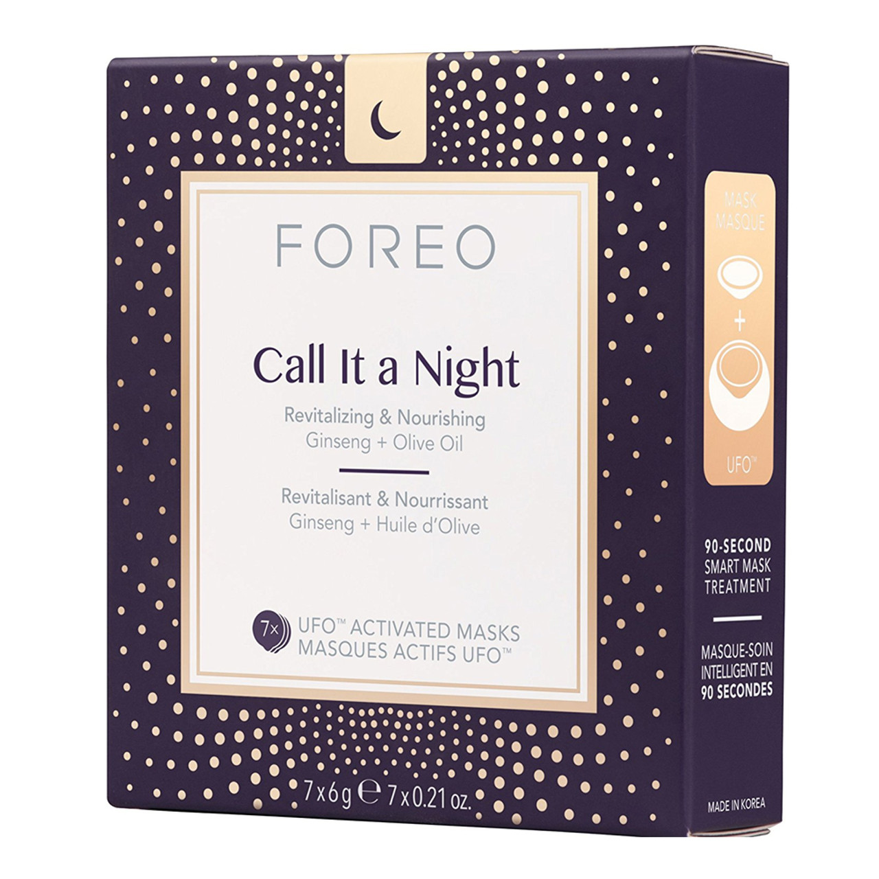 Foreo UFO Activated Masks - Call It A Night (7-Pk)
