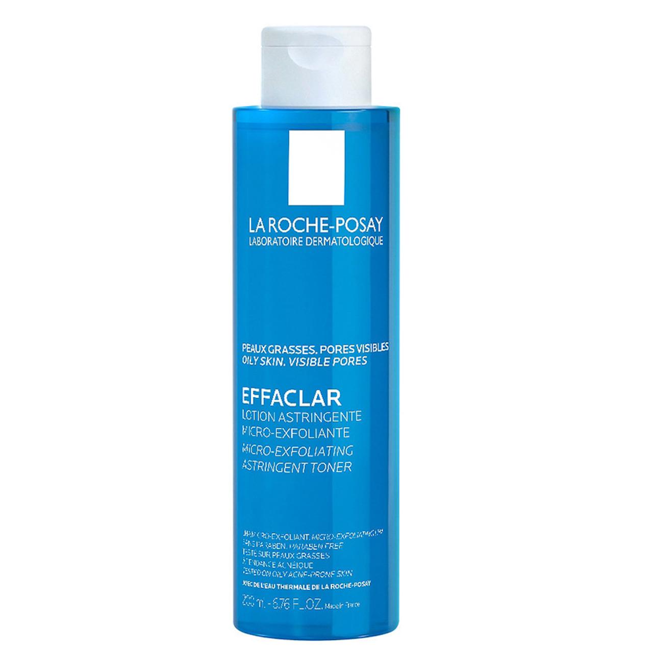 La Roche Posay Effaclar Micro-Exfoliating Astringent Toner BeautifiedYou.com