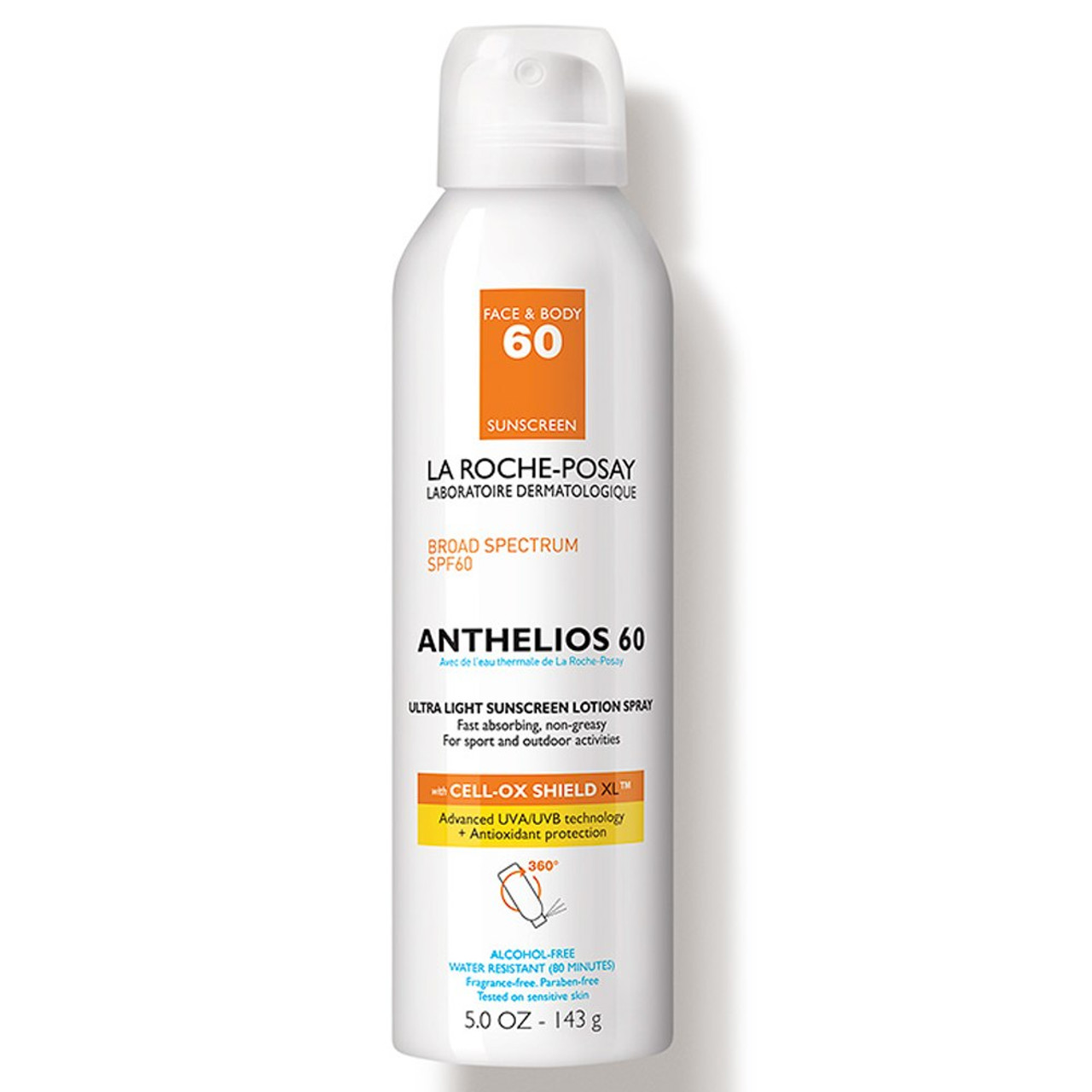 La Roche Posay Anthelios Ultra-Light Sunscreen Lotion Spray SPF 60