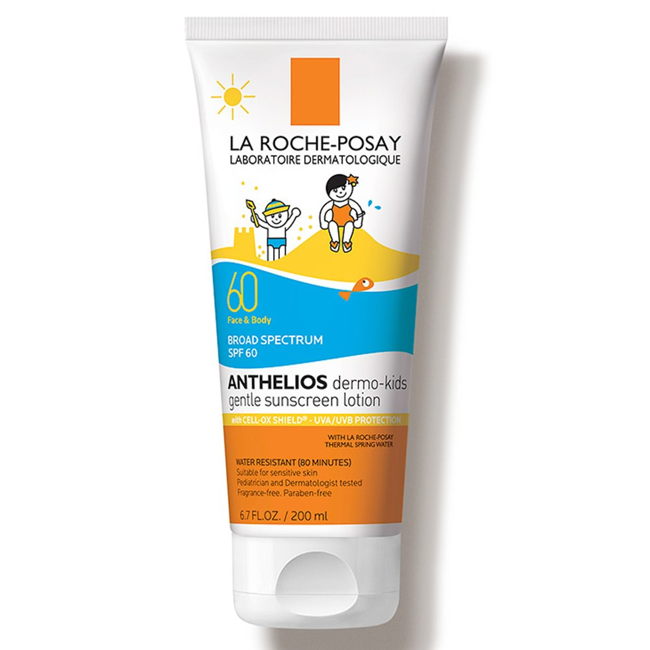 La Roche Posay Anthelios Dermo-Kids Gentle Lotion Sunscreen SPF 60