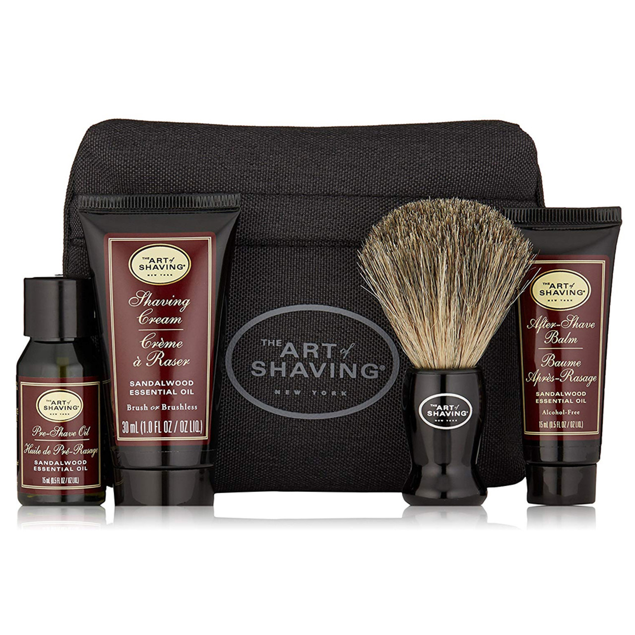 The Art of Shaving Starter Kit With Bag BeautifiedYou.com