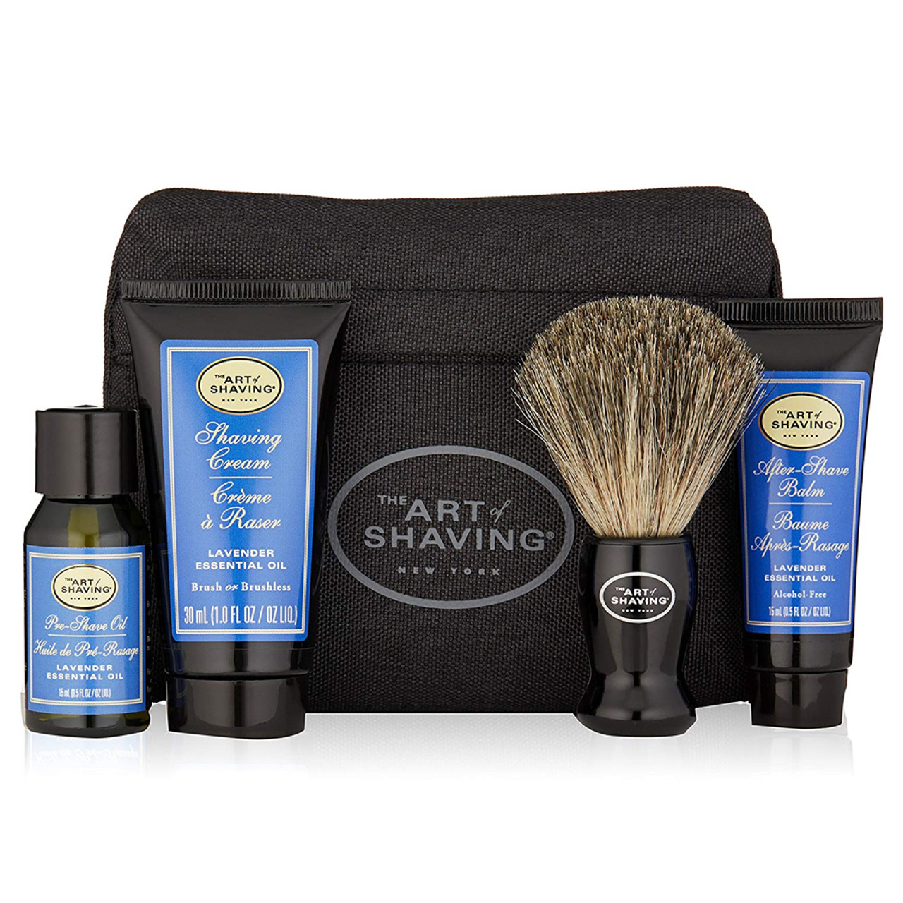 The Art of Shaving Starter Kit With Bag Unscented