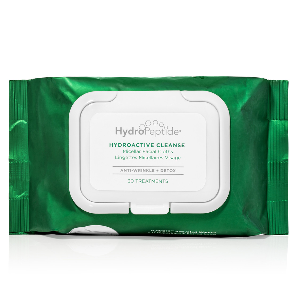 HydroPeptide HydroActive Facial Cleansing Cloths