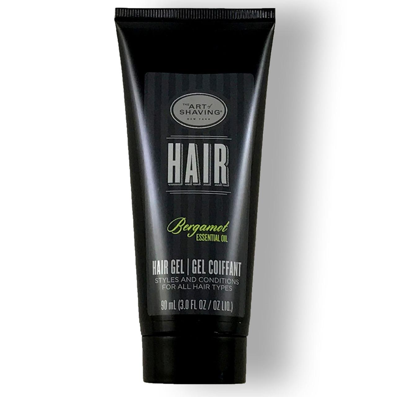 The Art of Shaving Hair Gel - Bergamot BeautifiedYou.com