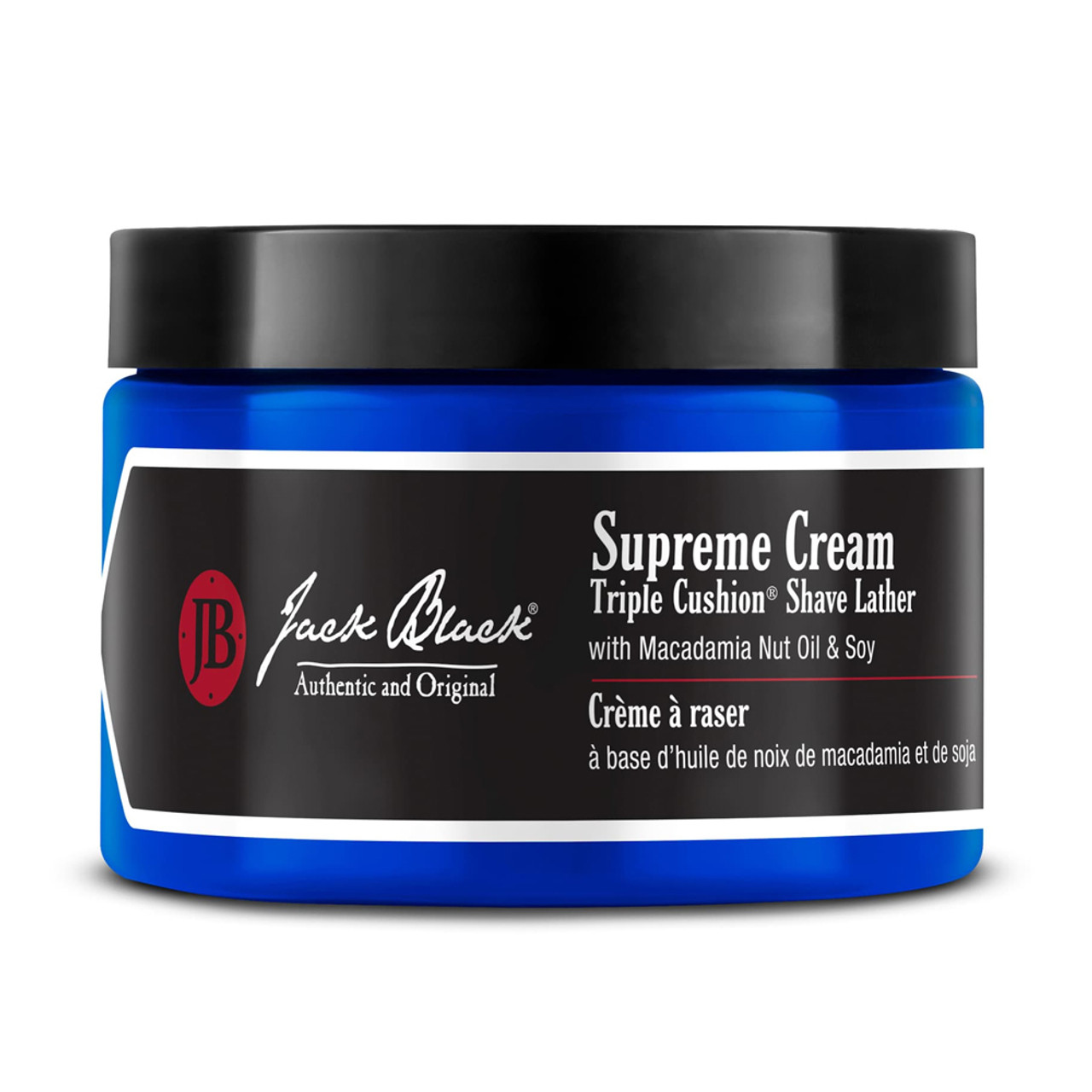 Jack Black Supreme Cream Triple Cushion Shave Lather 6.0 oz