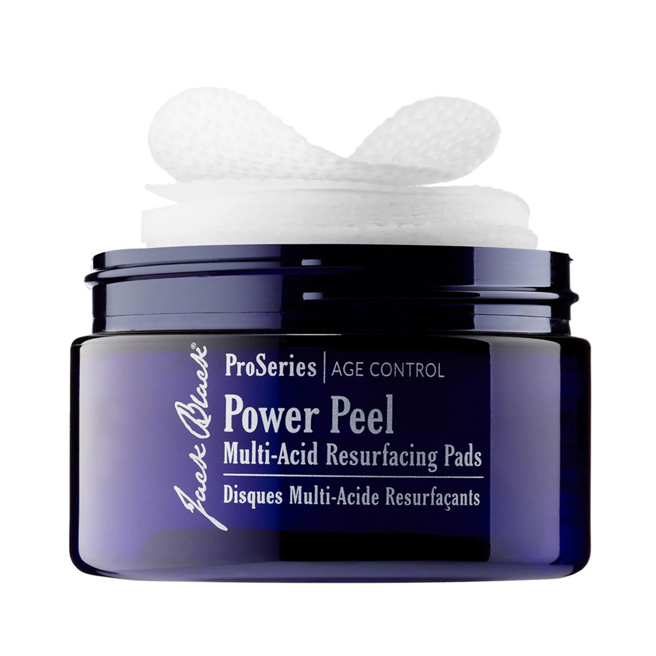 Jack Black Power Peel Multi-Acid Resurfacing Pads (40 Count)