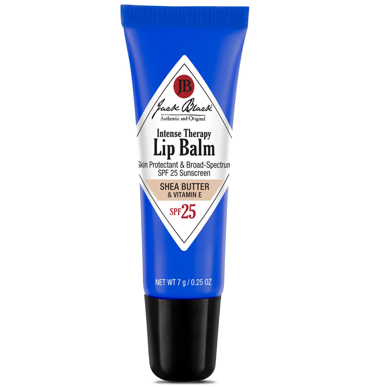 Jack Black Intense Therapy Lip Balm SPF 25 Natural Mint & Shea Butter