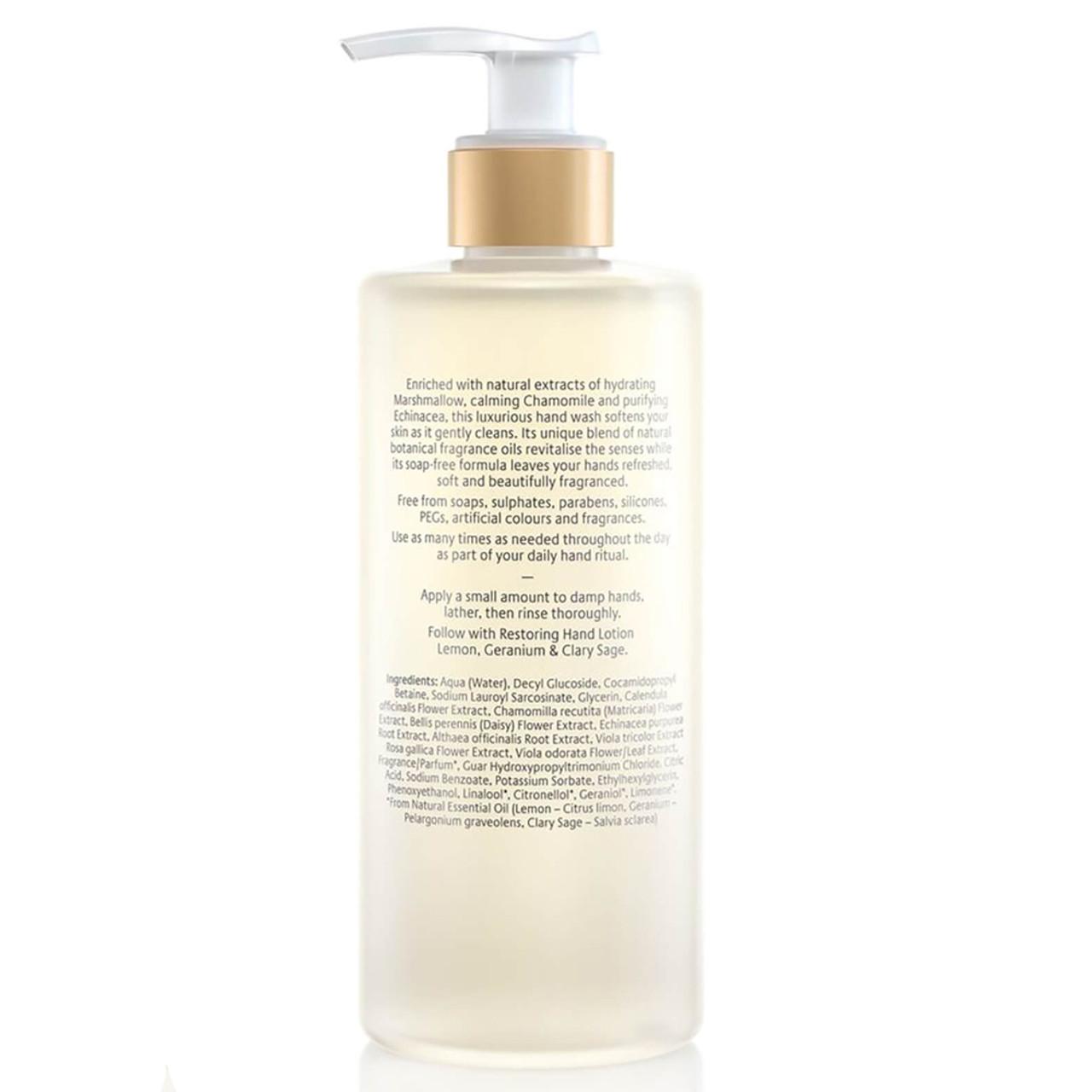 Jurlique Restoring Lemon, Geranium & Clary Sage Hand Wash BeautifiedYou.com