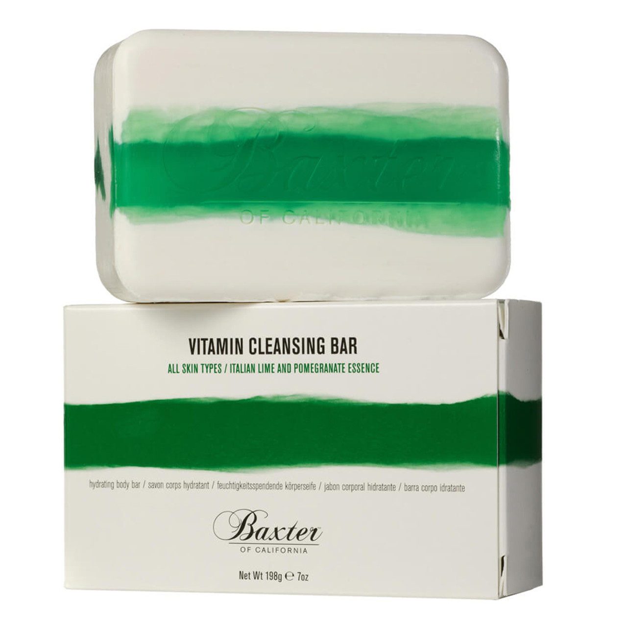 Baxter of California Vitamin Cleansing Bar Italian Lime & Pomegranate