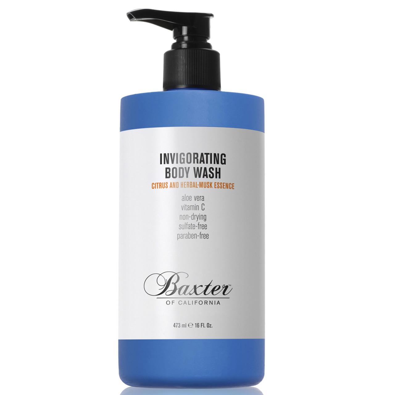 Baxter of California Invigorating Body Wash Citrus & Herbal Musk 8 oz