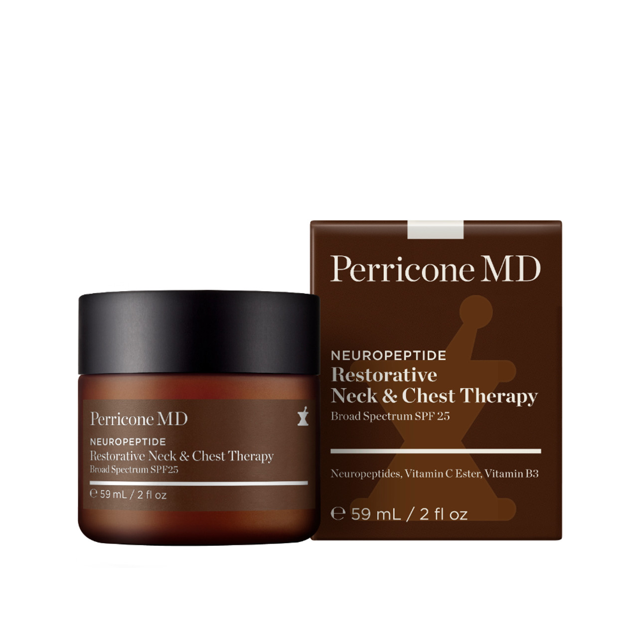 Perricone MD Neuropeptide Restorative Neck & Chest Therapy SPF 25 No Cap
