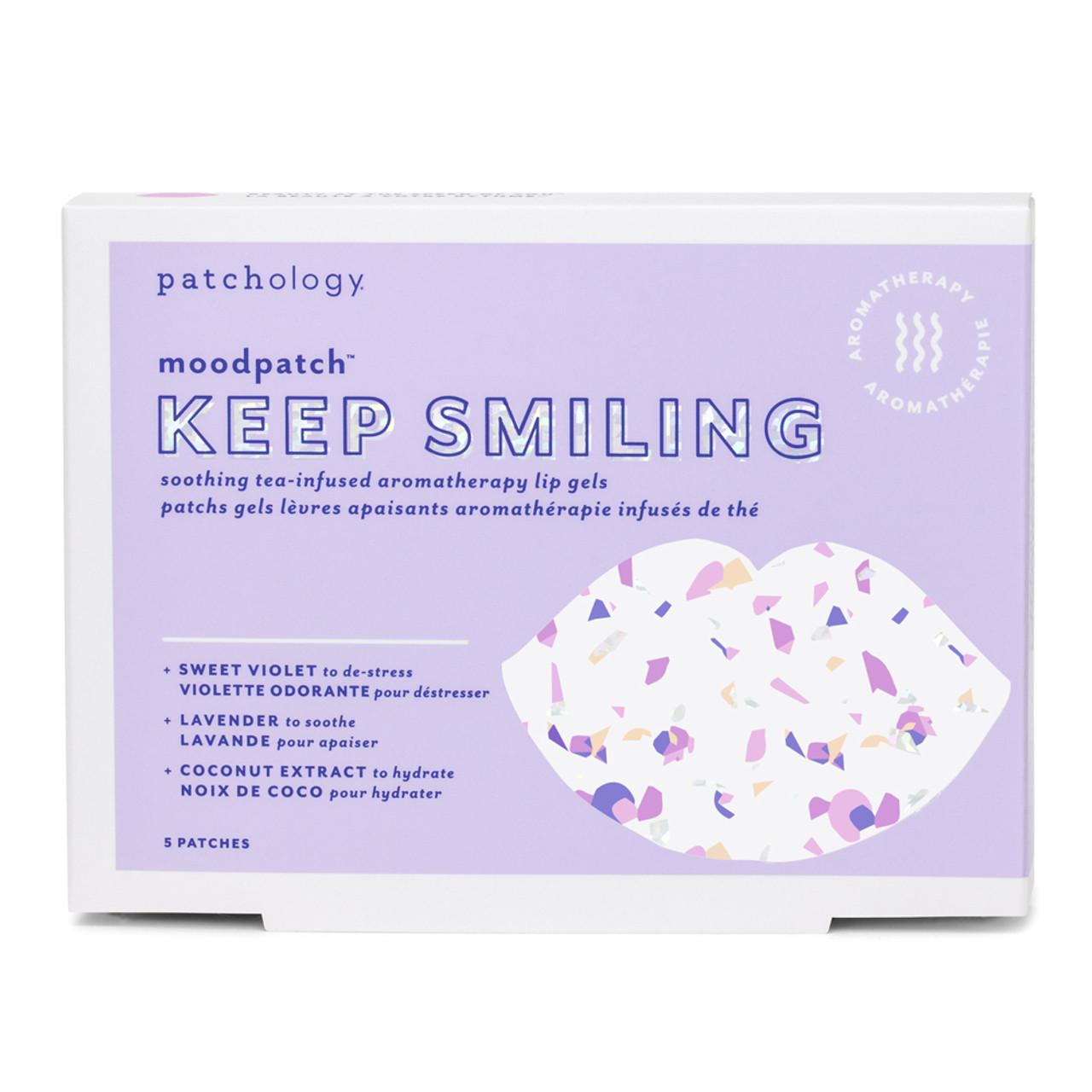 Patchology MoodPatch Keep Smiling Lip Gels (5-Pk) BeautifiedYou.com