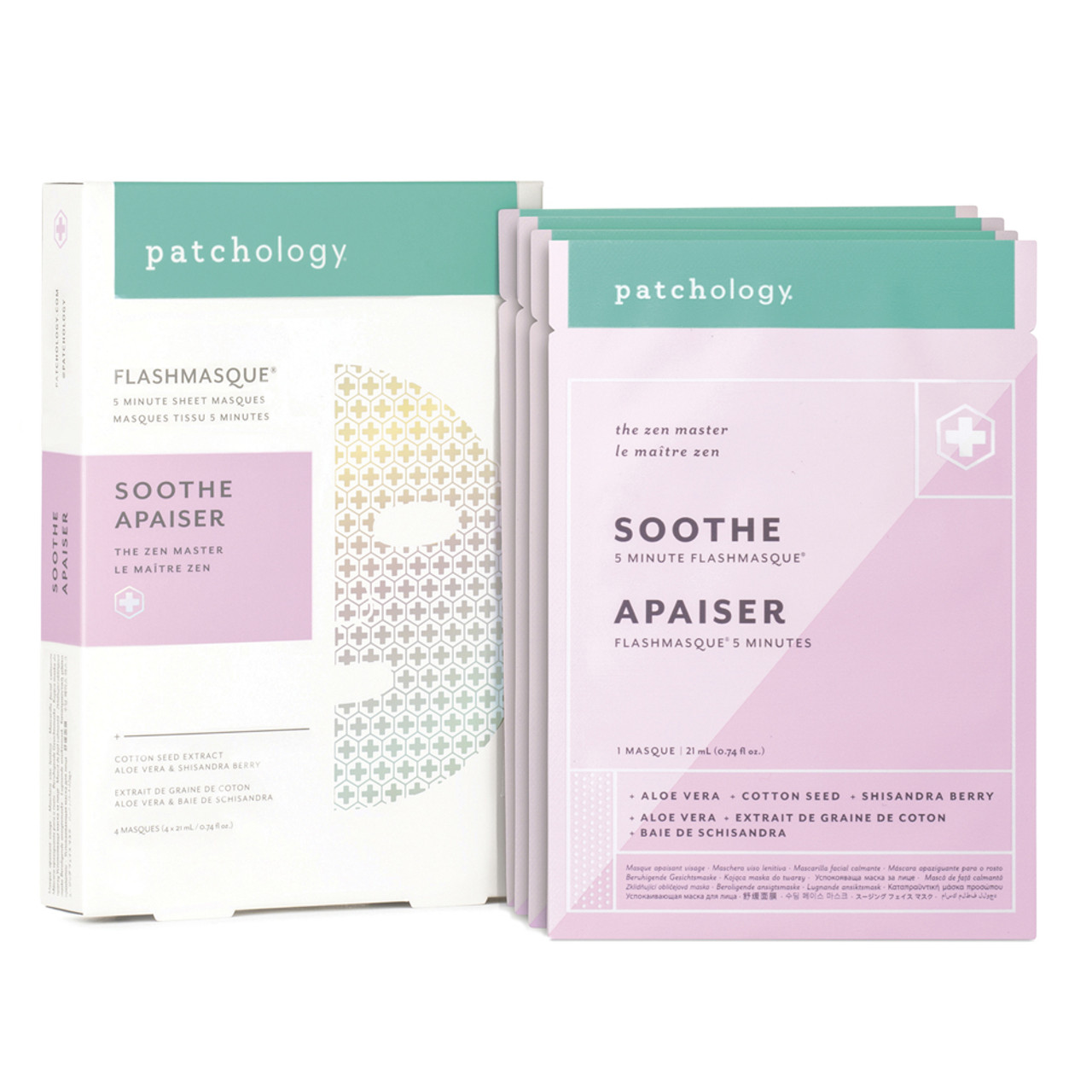 Patchology FlashMasque Soothe (4-Pk)