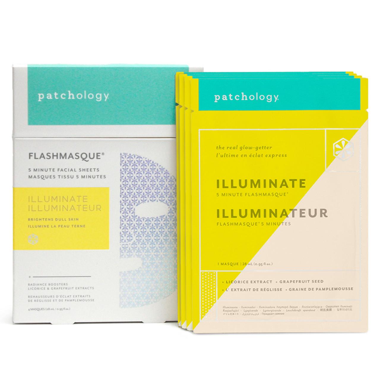 Patchology FlashMasque Illuminate (4-Pk)
