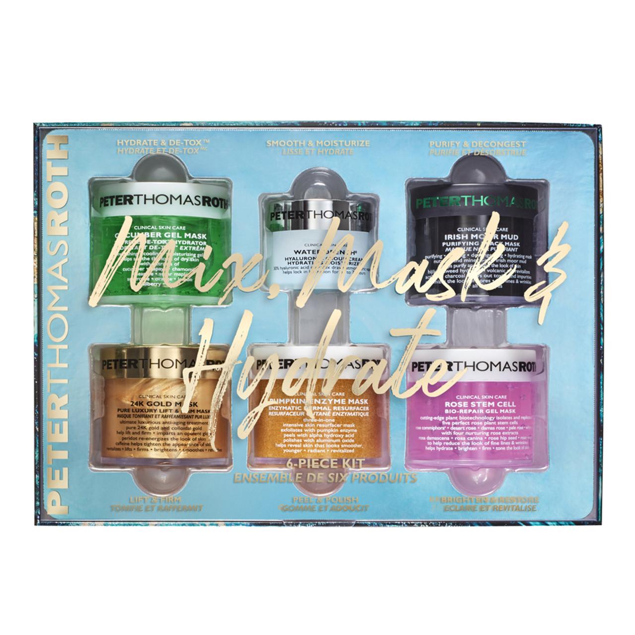 Peter Thomas Roth Mix, Mask & Hydrate 6-Piece Kit BeautifiedYou.com