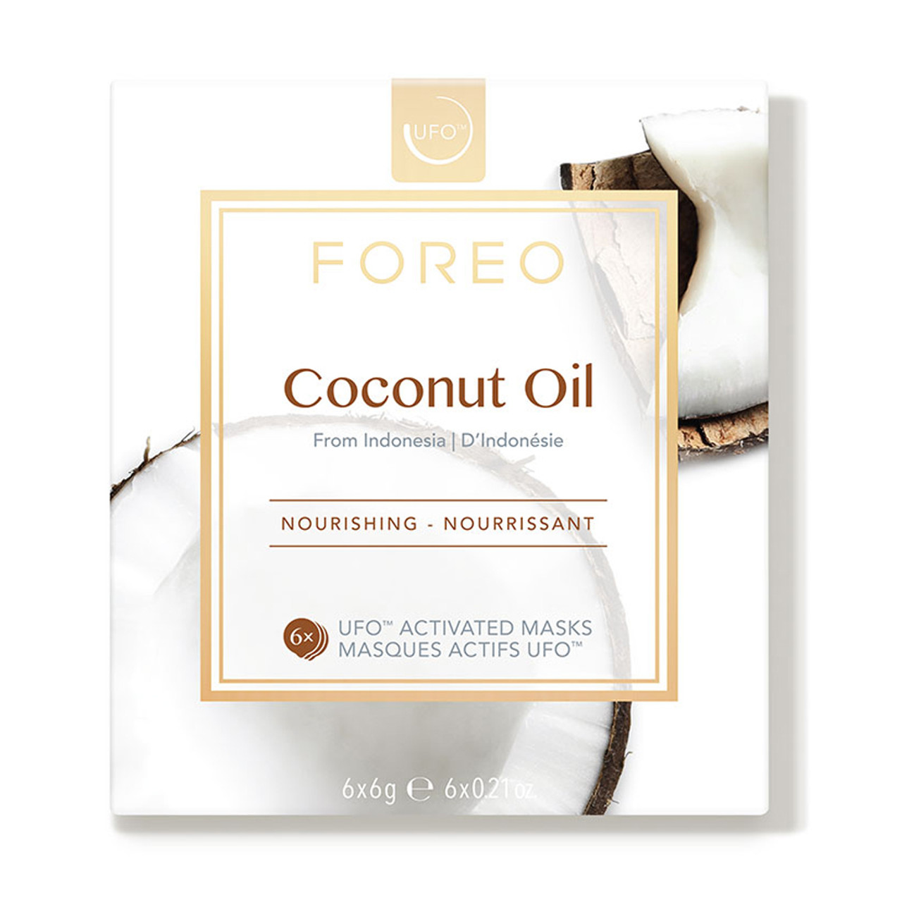 Foreo UFO Activated Masks - Coconut Oil (6-Pk)