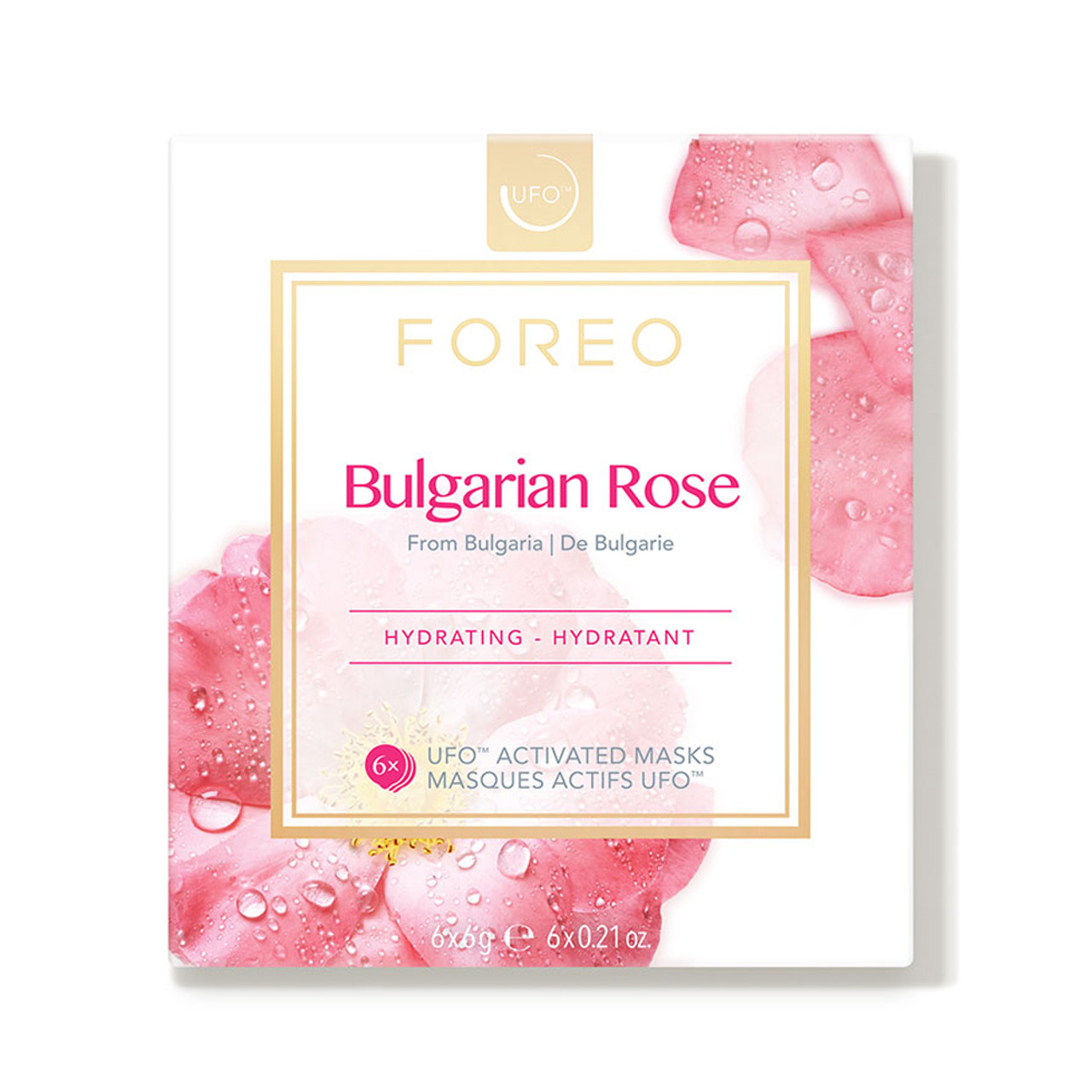 Foreo UFO Activated Masks - Bulgarian Rose (6-Pk)