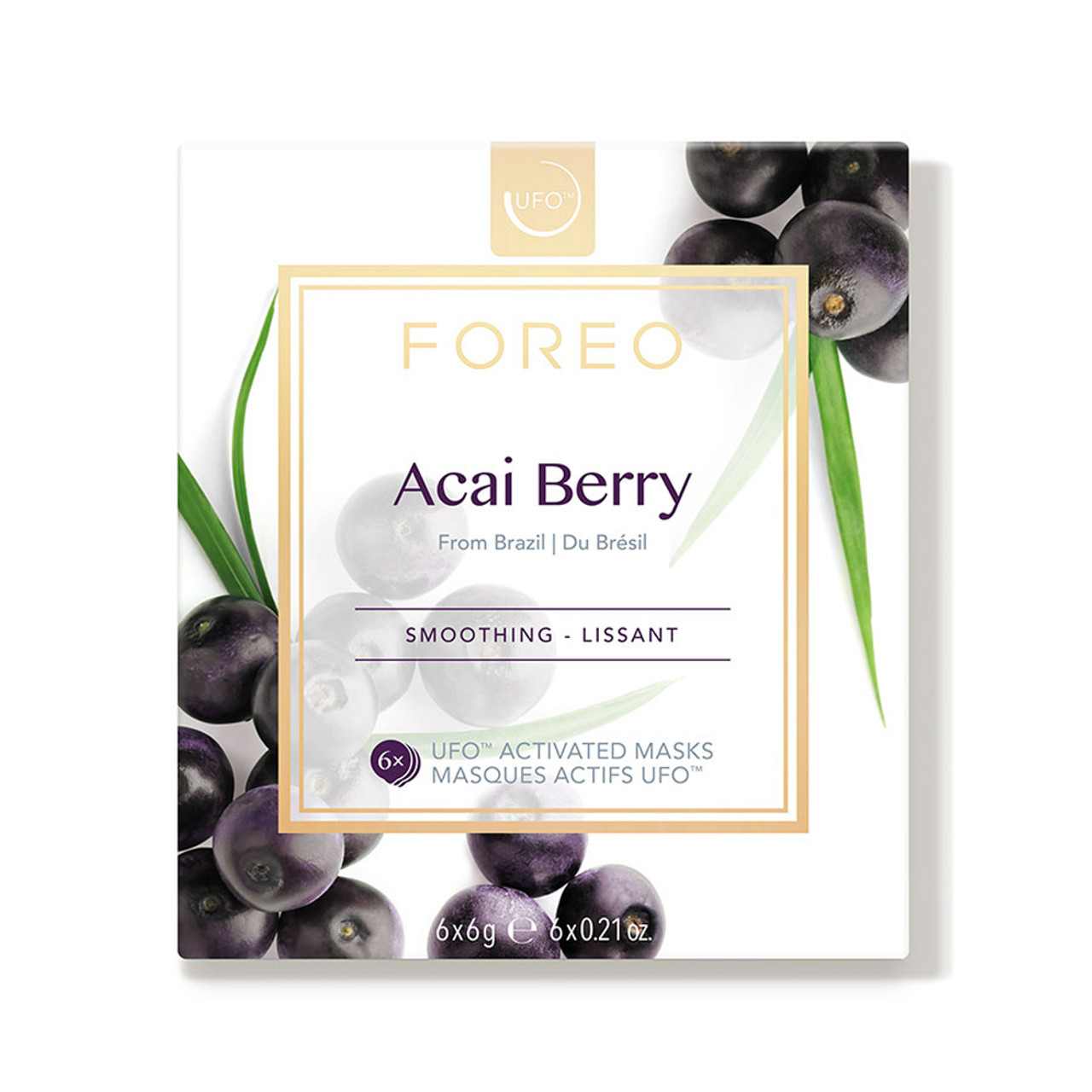 Foreo UFO Activated Masks - Acai Berry (6-Pk)