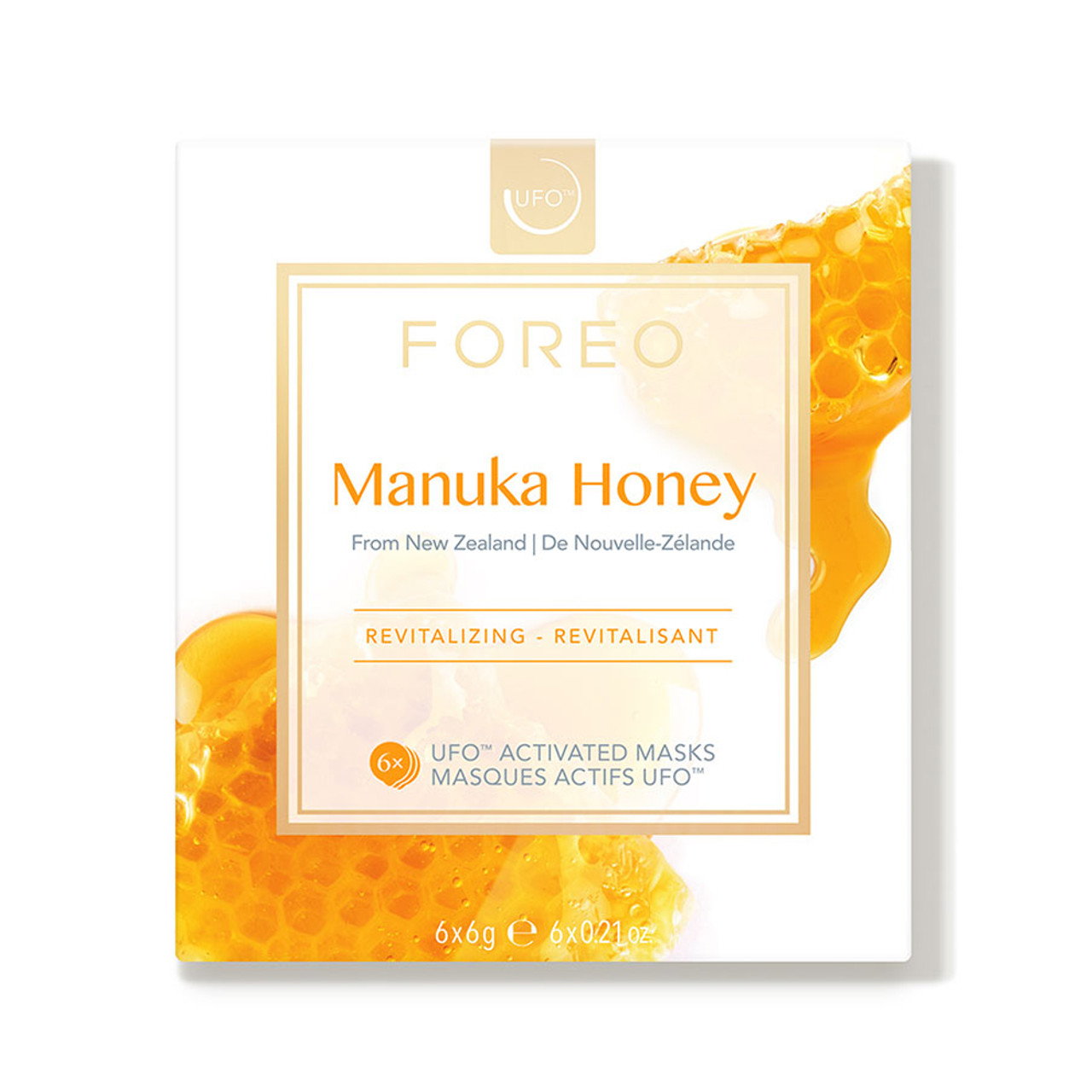 Foreo UFO Activated Masks - Manuka Honey (6-Pk)