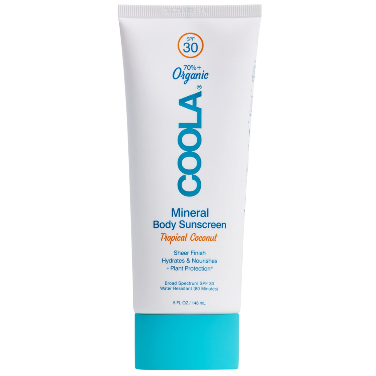 Coola Mineral Body Sunscreen Lotion SPF 30 - Tropical Coconut