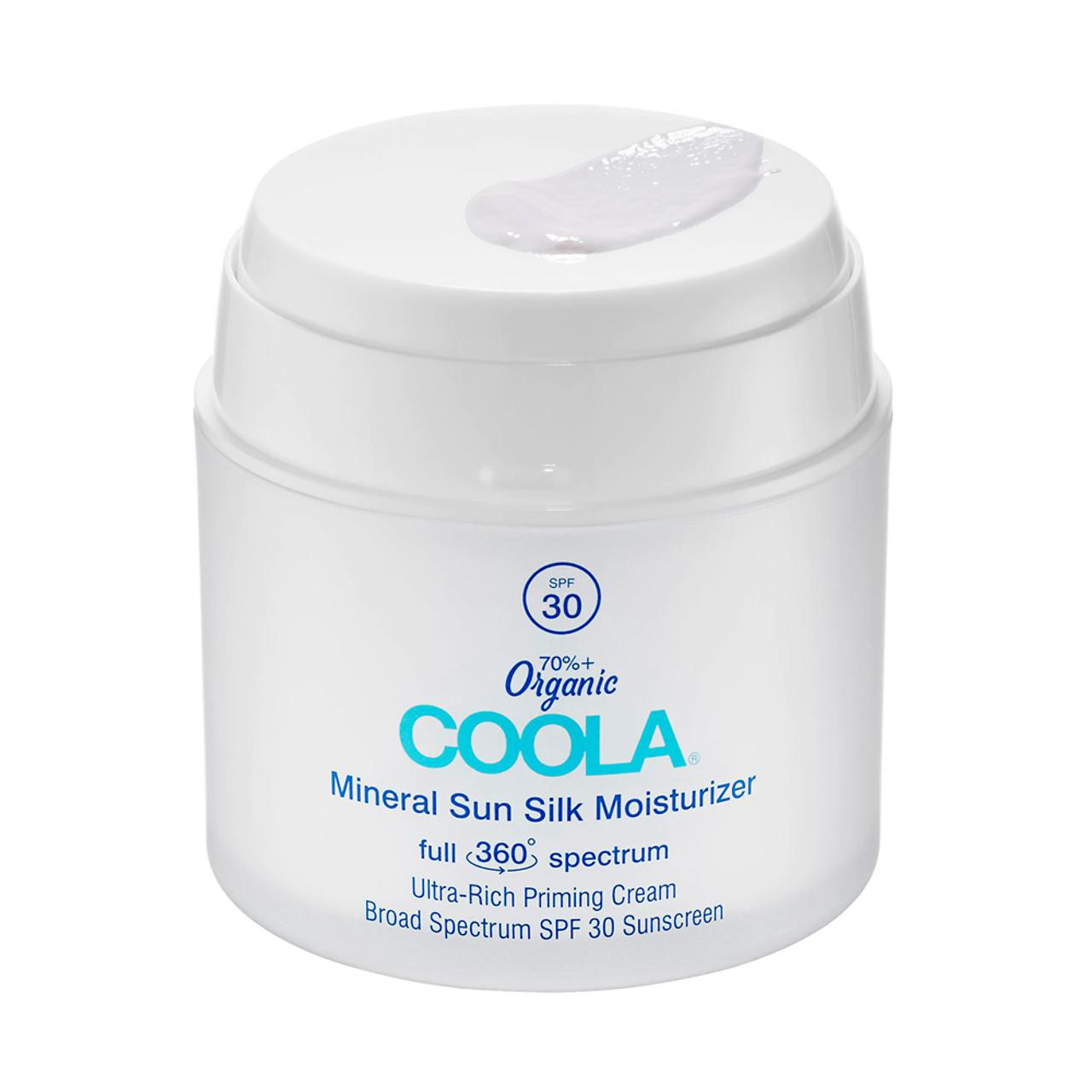 Coola Full Spectrum 360° Mineral Sun Silk Moisturizer Organic Sunscreen SPF 30