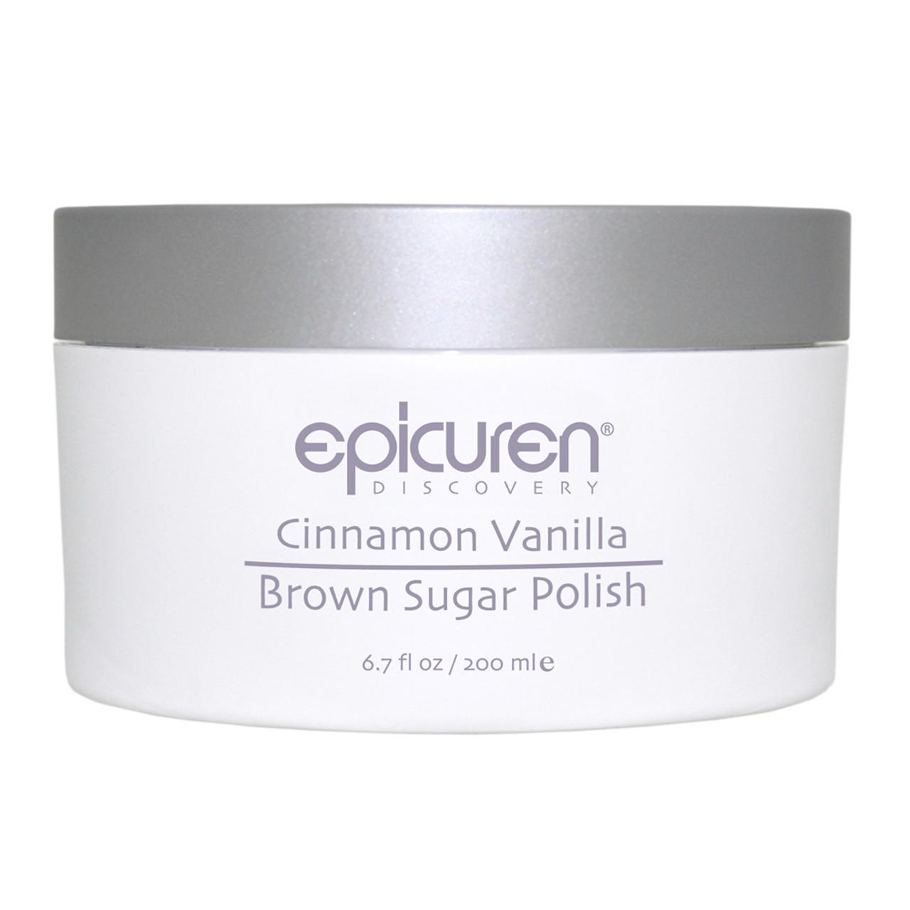 epicuren Discovery Cinnamon Vanilla Brown Sugar Body Polish
