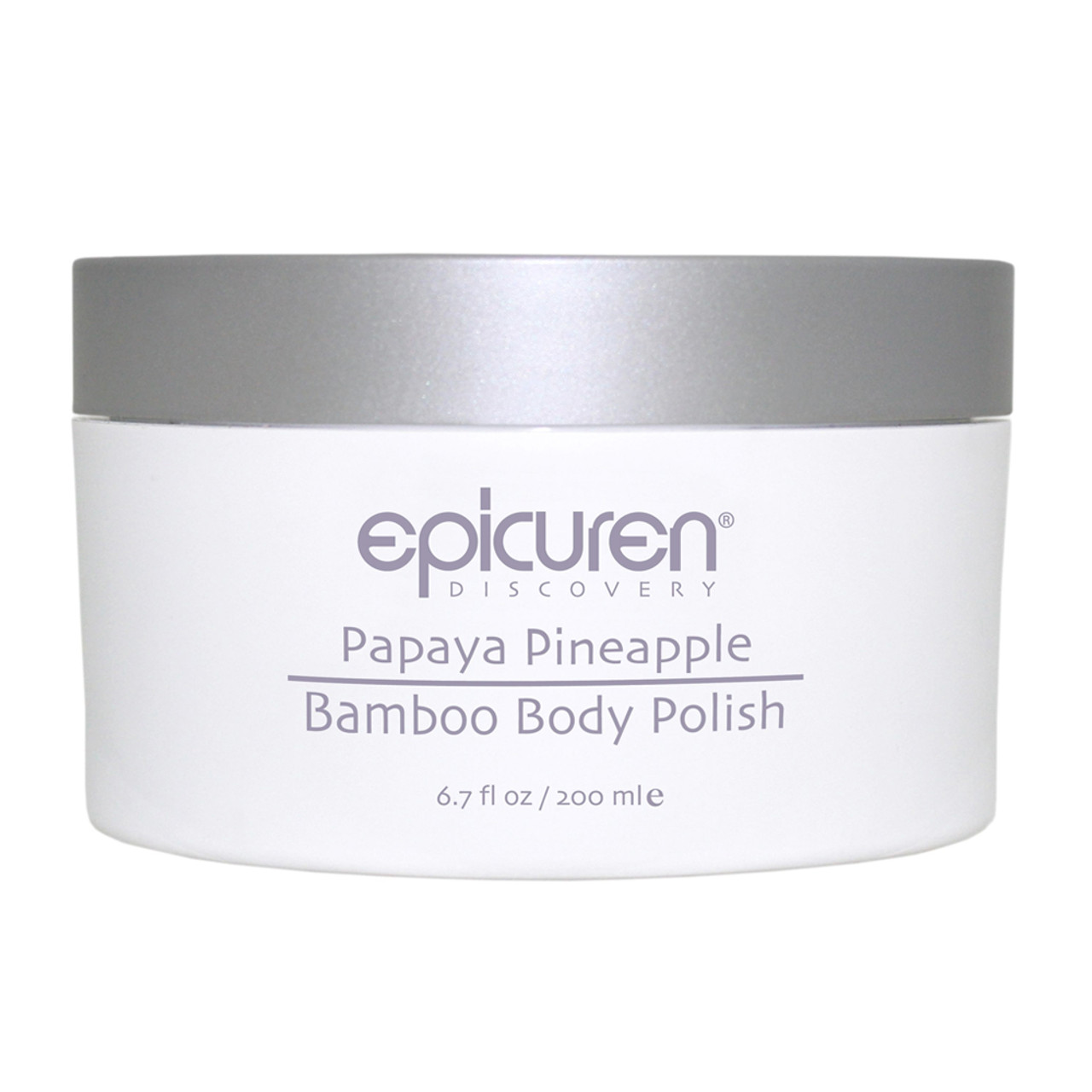 epicuren Discovery Papaya Pineapple Bamboo Body Polish