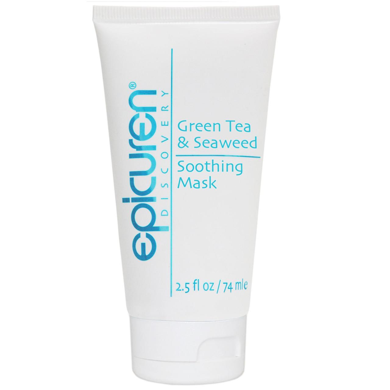 epicuren Discovery Green Tea & Seaweed Soothing Mask BeautifiedYou.com