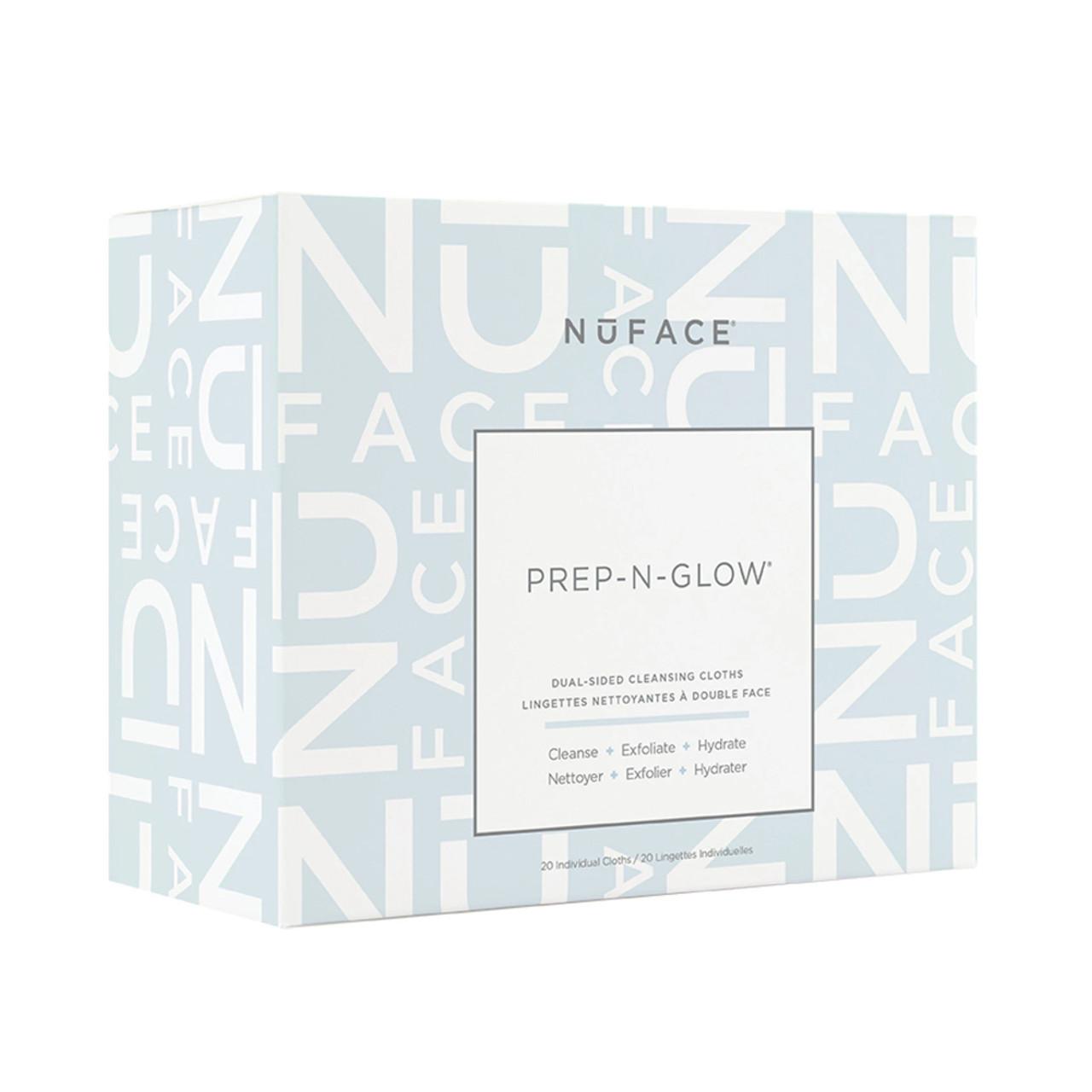NuFACE Prep-N-Glow Cleansing Cloths (20-Pk)