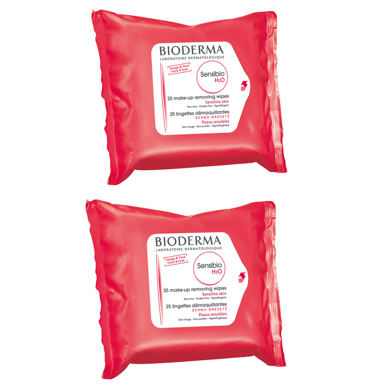 Bioderma Sensibio H2O Wipes Single