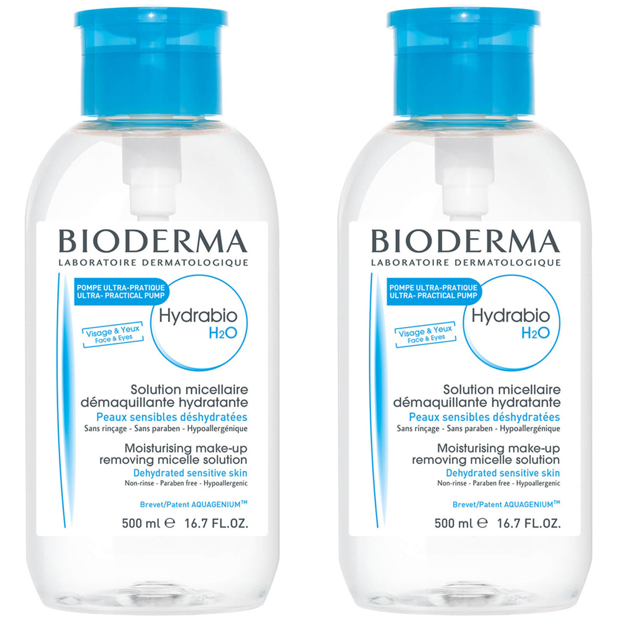 Bioderma Hydrabio H2O 250 mL