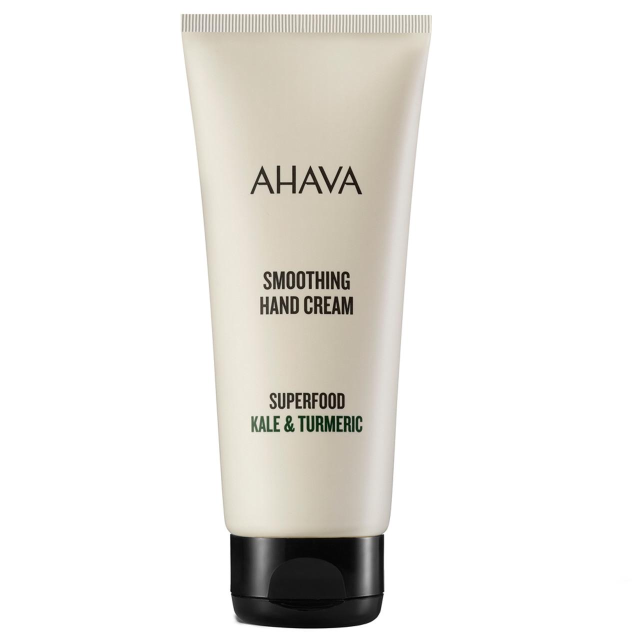 AHAVA Superfood Kale & Turmeric Smoothing Hand Cream BeautifiedYou.com