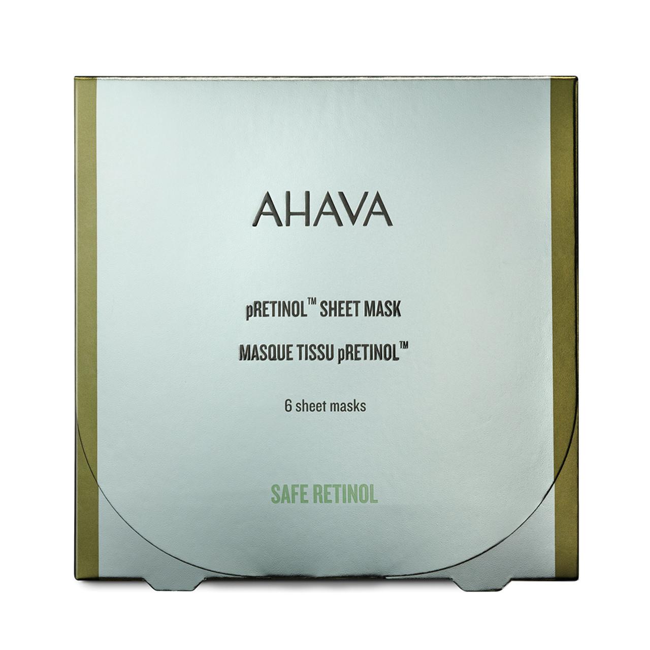 AHAVA pRetinol Sheet Mask (6-Pk)