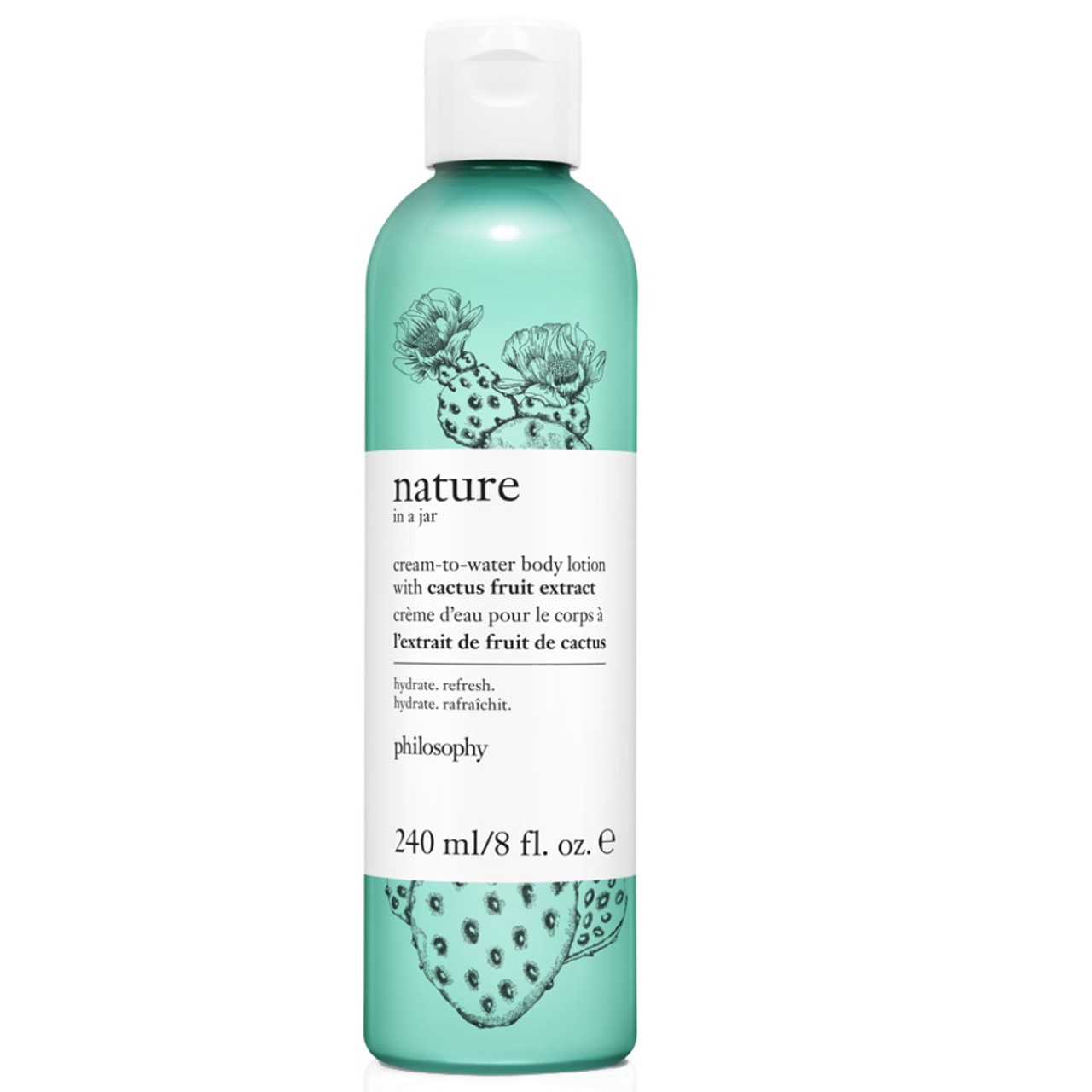 philosophy Nature in a Jar Cream-To-Water Body Lotion with Cactus Fruit Extract BeautifiedYou.com