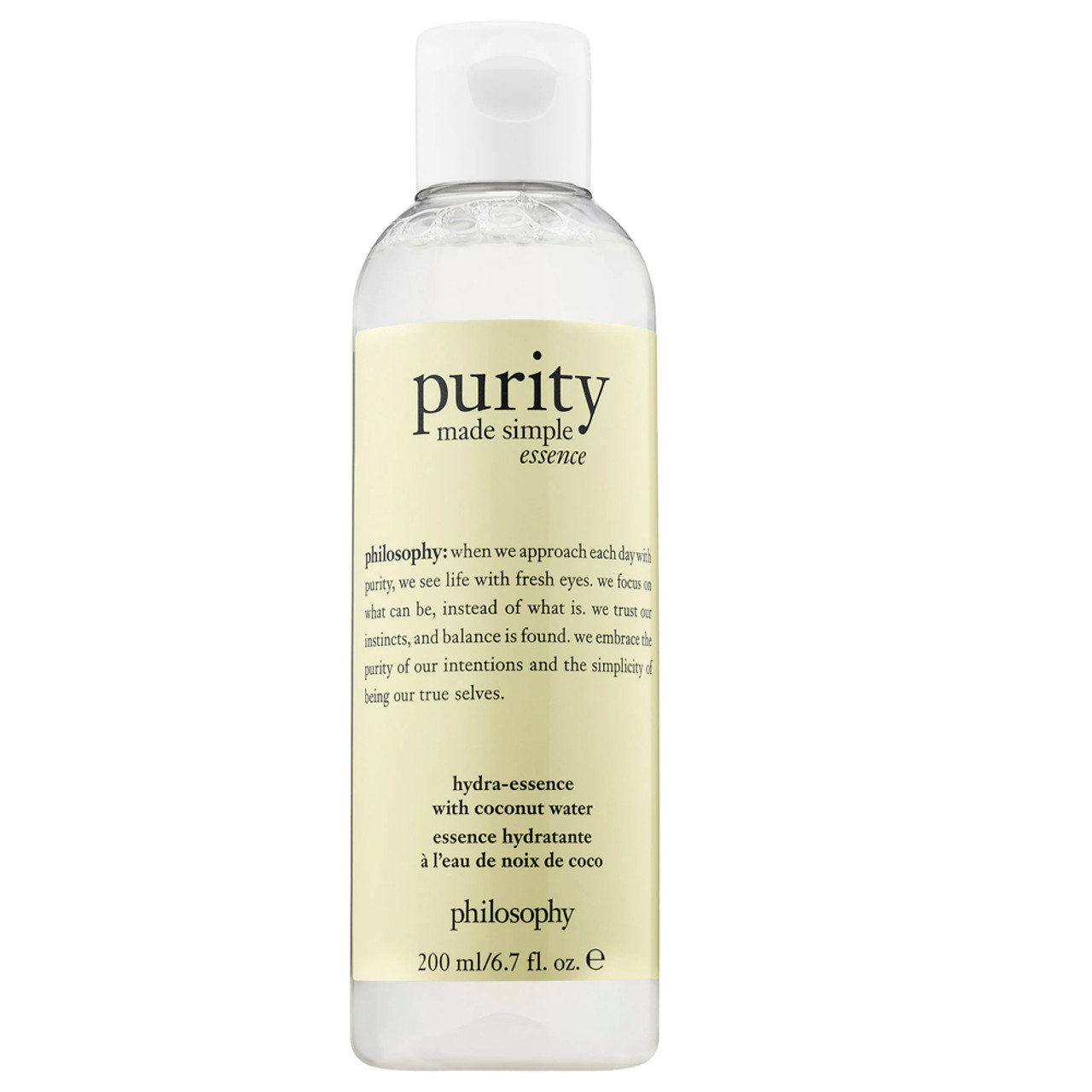 philosophy Purity Made Simple Hydra-Essence with Coconut Water