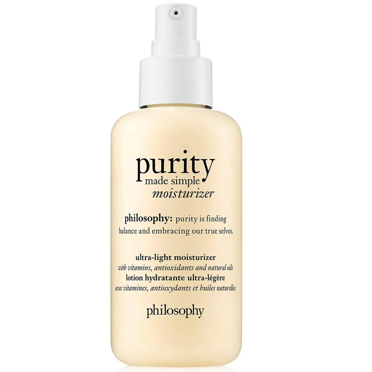 philosophy Purity Made Simple Ultra-Light Moisturizer BeautifiedYou.com