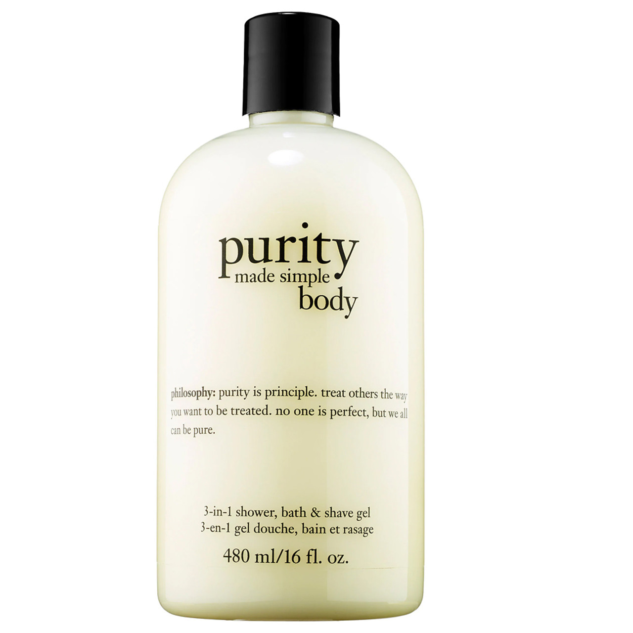 philosophy Purity Made Simple Body 3-In-1 Shower, Bath & Shave Gel