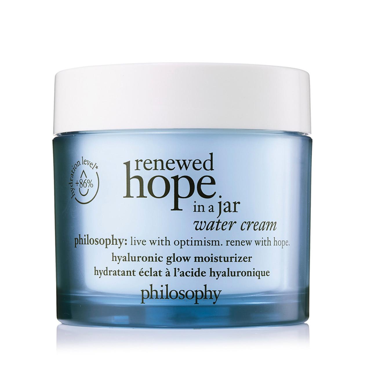 philosophy Renewed Hope in a Jar Water Cream BeautifiedYou.com