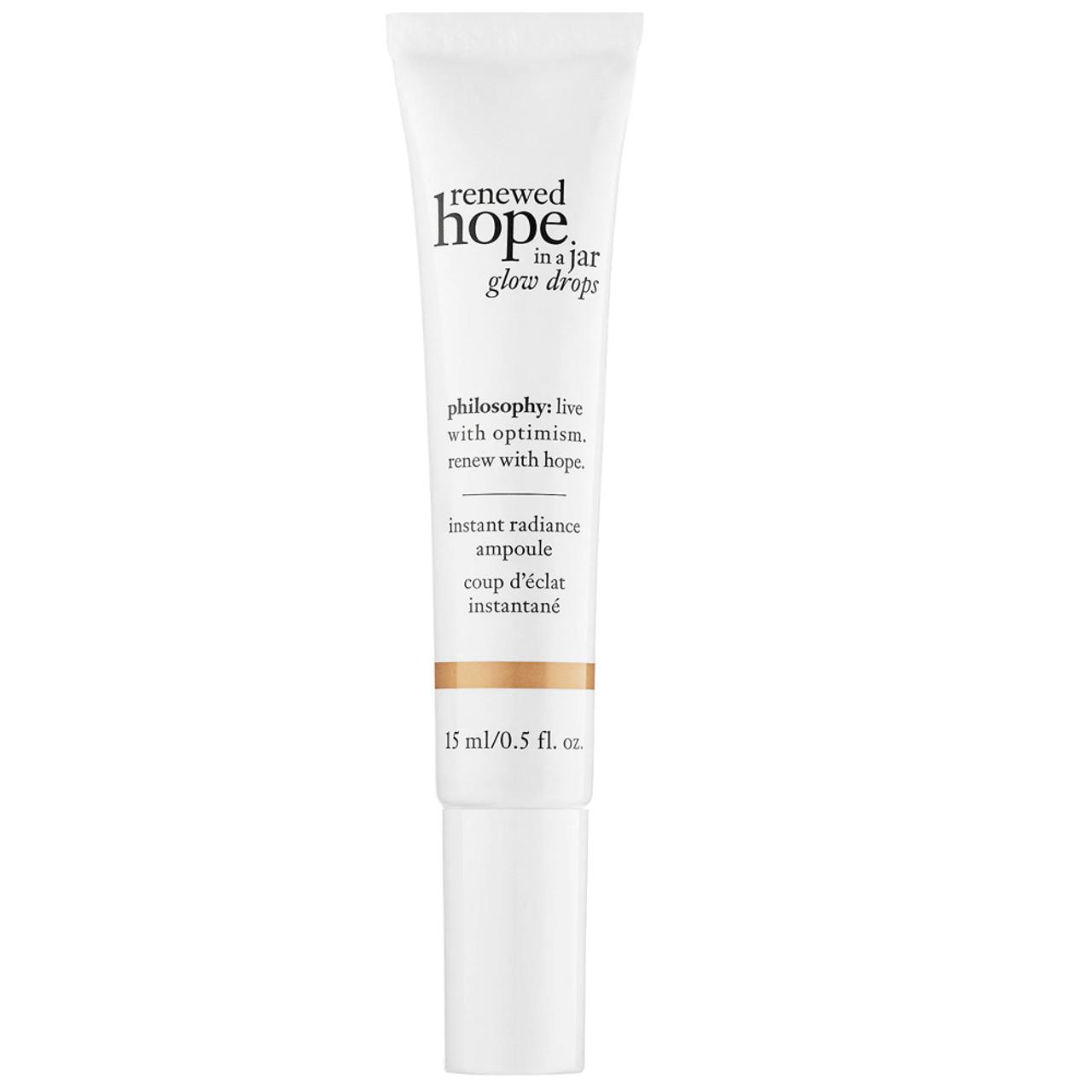 philosophy Renewed Hope in a Jar Glow Drops BeautifiedYou.com
