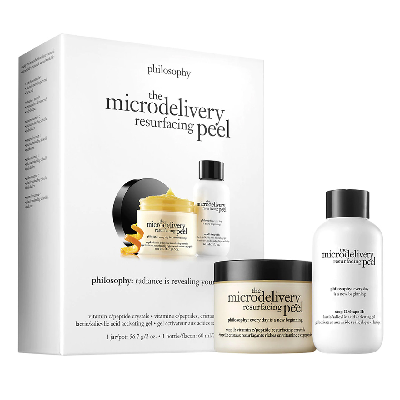 philosophy The Microdelivery Vitamin C Resurfacing Peel BeautifiedYou.com