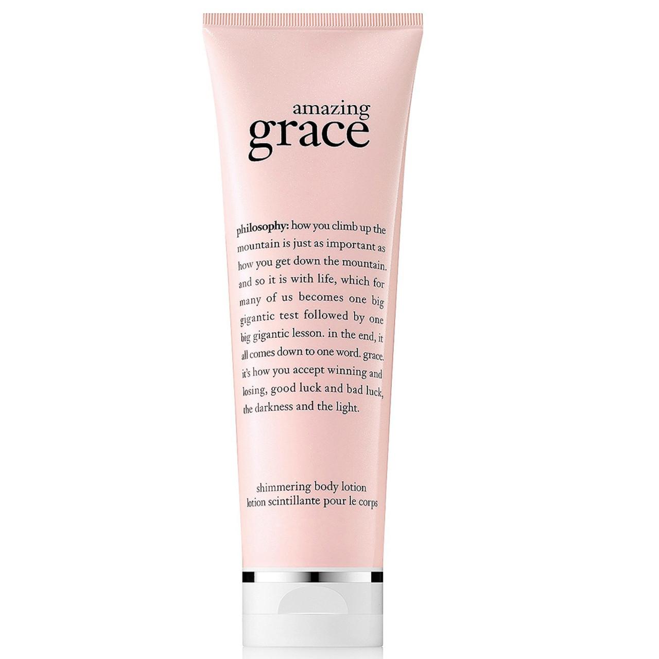 philosophy Amazing Grace Shimmering Body Lotion BeautifiedYou.com