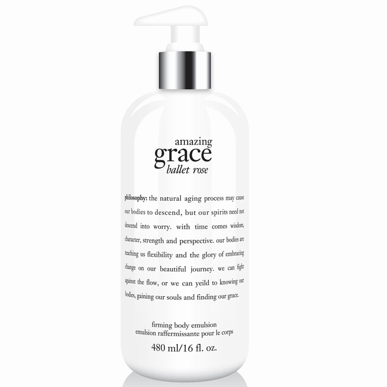 philosophy Amazing Grace Ballet Rose Firming Body Emulsion BeautifiedYou.com