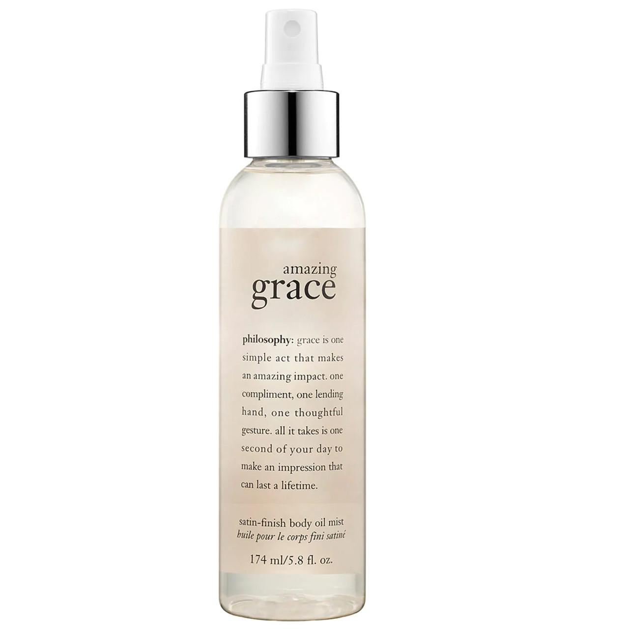 philosophy Amazing Grace Satin-Finish Body Oil Mist BeautifiedYou.com